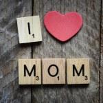 I Love my mom Concept. — Stock Photo #61323181