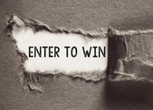 Enter to win concept. — Stock Photo