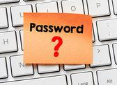Memo with word password — Stockfoto