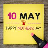 Happy mother's day — Stock Photo