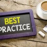 Best practice on blackboard — Stock Photo #69888879