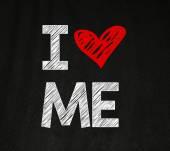 I love me phrase — Stock Photo