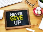 Never give up on Blackboard — Stock Photo