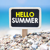 Hello Summer time — Stock Photo