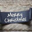 Black papper  Merry Christmas — Stock Photo #79175434
