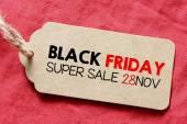 Inscription black friday sale — Stock Photo