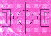 Soccer field or Football textured grass field on wall texture ba — Photo