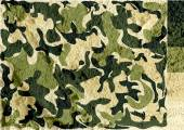 Camouflage pattern design  on wall texture background — Stock Photo