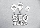 Seo Idea SEO Search Engine Optimization — Stock Vector