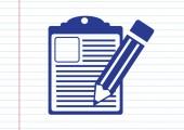 Lista kontrolna ikona — Wektor stockowy