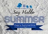 セメント壁背景テクスチャの夏アイデア デザイン カード — ストック写真