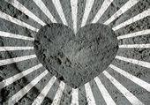 Cartolina d'auguri di San Valentino felice il cemento muro texture backg — Foto Stock
