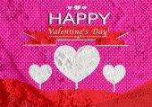 Happy Valentine's Day Greeting Card — Stock Photo