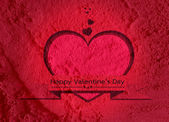 Amour et coeurs pour la conception de la Saint-Valentin — Photo
