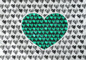 Love and hearts for valentine design — Zdjęcie stockowe