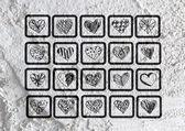 Love and hearts for valentine design — Φωτογραφία Αρχείου