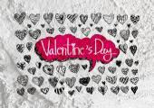 Love and hearts for valentine design — Foto de Stock
