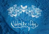 Love and hearts for valentine design — Stock Photo