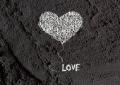 Láska a srdce pro Valentýna design — Stock fotografie