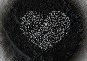 Corações para o design dos namorados — Fotografia Stock