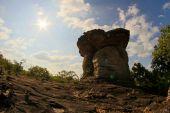 Thailand Stonehenge Sao Chaleang ubonratchathani Province, Thail — Stock Photo