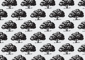 Illustration Tree background — Stock Vector