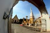 Wat Phra That Nakhon , Nakhon Phanom , Thailand — Stockfoto