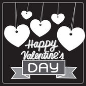 Heart for Valentines Day — Stock Vector