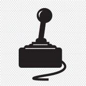 Game Controller Icon — Stock Vector