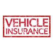 Vehicle Insurance text — Stockvector