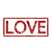 Love word  illustration — ストックベクタ