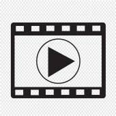 Film Strip Icon — Stock Vector