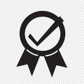 Certified Seal Icon — Stock Vector