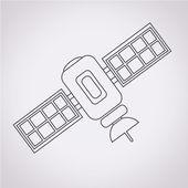 Satellite icon vector illustration — Stock Vector
