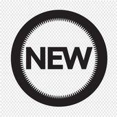 New Icon vector illustration — Stock Vector