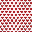 Vector heart Valentines day pattern background — Stock Vector #71589205