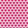 Vector heart Valentines day pattern background — Stock Vector #71589243