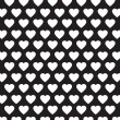 Vector heart Valentines day pattern background — Stock Vector #71589273