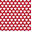 Vector heart Valentines day pattern background — Stock Vector #71589277