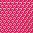 Vector heart Valentines day pattern background — Stock Vector #71589401