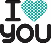 I Love You Stock Illustrations and Vector Art — Stock Vector