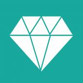 Diamond icon ,   diamond,  diamond logo — Stockvektor