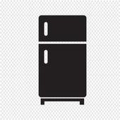 Refrigerator icon — Stock Vector