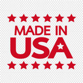 Made in USA Icon illustration — Stock Vector