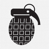 Bomb Icon illustration — Stock Vector