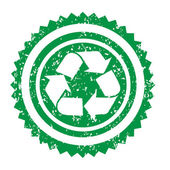 Recycle sign illustration — Stockvector