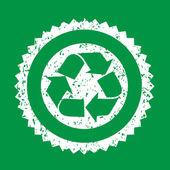 リサイクルの記号の図 — ストックベクタ