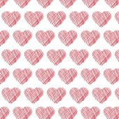Hearts pattern background — Stock Vector