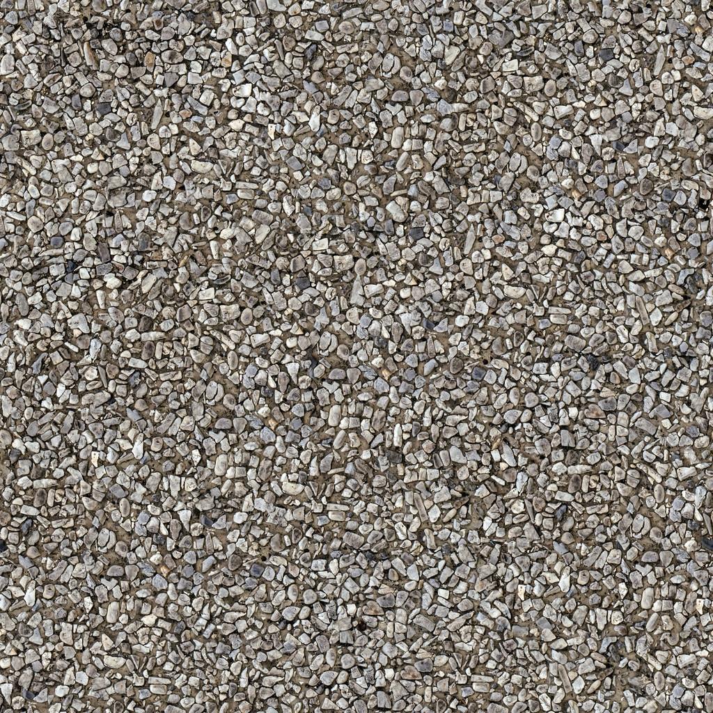 Seamless Stone Pebble Texture Pattern Stock Photo