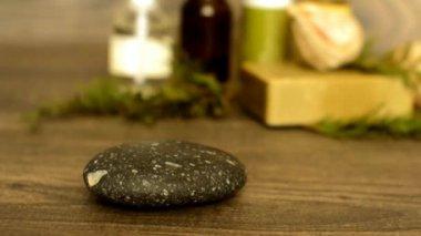 Taşlar için spa — Stok video